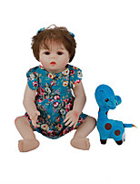 cheap -FeelWind 18 inch Reborn Doll Baby & Toddler Toy Reborn Toddler Doll Baby Girl Gift Cute Lovely Parent-Child Interaction Tipped and Sealed Nails Full Body Silicone LV004 with Clothes and Accessories