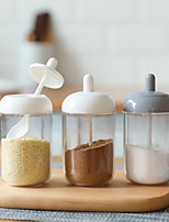 cheap -Kitchen Seasoning Storage Bottle 1 Pc with Spoon for Salt and Sugar