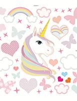 cheap -Hearts /Unicorn Decorative Wall Stickers - Plane Wall Stickers Nursery / Kids Room