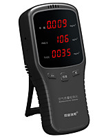 cheap -WP6910 PM1.0 PM2.5 PM10 Meter PM2.5 Sensor Tester HCHO Meter Air Detector with Rechargeable Lithium Battery