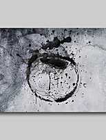 cheap -Oil Painting Hand Painted - Abstract Abstract Landscape Comtemporary Modern Rolled Canvas