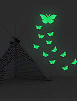 cheap -Luminous Stickers Butterfly Home Background Decoration Removable Stickers