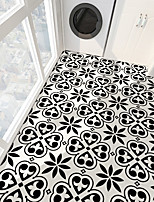 cheap -PVC antiskid twill print spade heart stone floor paste bathroom bedroom living room DIY floor paste