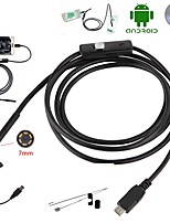 cheap -Endoscope Camera 7MM 2 in 1 Micro USB Mini Camcorders 1M 2M Waterproof 6 LED Borescope Inspection Camera For Android Loptop