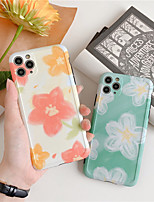 cheap -Yellow flower Floral Phone Case For iphone 8 7 Plus Capa Cases Fashion hard plastic Cover For iphone 11 Pro max XS MAX XR X