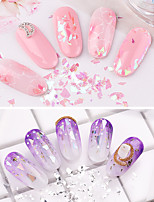 cheap -1 pcs Creative / Durable Glass Sequins For Finger Nail Creative nail art Manicure Pedicure Party / Evening / Festival Sweet / Fashion