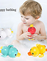 cheap -Summer New Bathroom Bath Shower Baby Clockwork Swimming Children Play Water Cute Little Yellow Duck Bathing Bathtub Toys For Kid Color Random