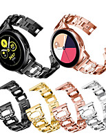 cheap -Watch Band for Samsung Galaxy Watch 42mm / Samsung Galaxy Watch Active / Samsung Galaxy Watch Active 2 Samsung Sport Band / Modern Buckle / Jewelry Design Stainless Steel Wrist Strap