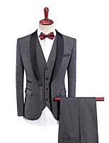 cheap -Tuxedos Standard Fit Shawl Collar Single Breasted One-button Polyester