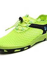 cheap -Women's Trainers / Athletic Shoes Winter Flat Heel Round Toe Casual Minimalism Outdoor Beach Mesh Walking Shoes Light Green / Fuchsia / Blue