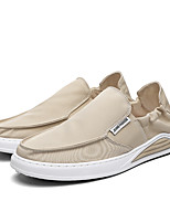 cheap -Men's Summer / Fall Casual / Preppy Daily Outdoor Loafers & Slip-Ons Mesh Breathable Non-slipping Black / Beige / Gray