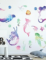 cheap -Fairies Wall Stickers Plane Wall Stickers Decorative Wall Stickers PVC Home Decoration Wall Decal Wall Window Decoration 1pc