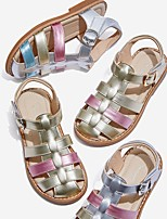 cheap -Girls' Comfort PVC Sandals Little Kids(4-7ys) Gold / Silver Summer