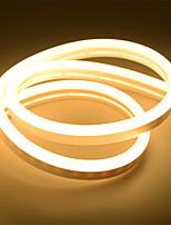 Недорогие -5 м неоновые полосы света 360 светодиодов 2835 smd 6 мм 1 шт. Теплый белый белый красный день благодарения рождество водонепроницаемый режущий декоративный 12 В