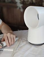 cheap -3 in 1 Mini Cooling Fan Bladeless Desktop Mist Humidifier LED Light - White
