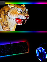 cheap -Animal Rgb Extra Large Mouse Pad Led Video Games Colorful Luminous Keyboard Mouse Pad 250 * 350 * 4mm