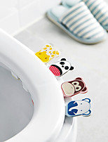 cheap -Cartoon Toilet Cover Lifter Chamber Pot to Hand Flip Device Cartoon Pedestal Pan Handle Lifting Handle Chamber Pot Lift The Lid Color Random
