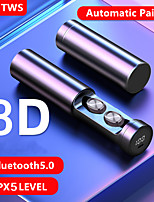 cheap -LITBest B9 TWS True Wireless Earbuds Bluetooth5.0 Stereo with Microphone with Charging Box Sweatproof Auto Pairing for Sport Fitness