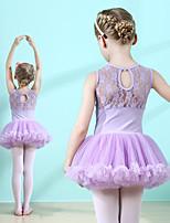 cheap -Swan Lake Ballet Dancer Dress Tutu Girls' Movie Cosplay Tutus Pink / Lavender Dress Cotton