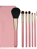 cheap -Professional Makeup Brushes 7pcs Soft Artificial Fibre Brush Wooden / Bamboo for Foundation Brush Eyeshadow Brush Makeup Brush Set