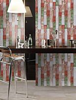 cheap -Simulation Fir Pattern Floor Stickers Color Wall Stickers Pvc Waterproof And Wear-resistant Thick Stickers