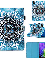 cheap -Case For Samsung Galaxy Tab A 8.0(2019)T290/295 / Samsung Tab S6 T860/865 / Samsung Tab A8(2019)P200/205 with Stand / Flip / Pattern Full Body Cases Flower PU Leat for Tab T280 T580 T510 T725