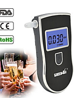 cheap -NEW Hot selling AT-818 Professional Police Digital Breath Alcohol Tester Breathalyzer AT818 Free shipping