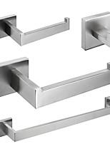 cheap -Towel Bar / Robe Hook New Design Modern Stainless Steel 4pcs - Bathroom Single