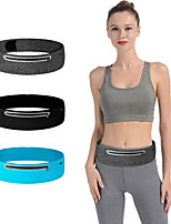 cheap -Running Belt Fanny Pack Belt Pouch / Belt Bag for Running Hiking Outdoor Exercise Traveling Sports Bag Reflective Adjustable Waterproof Tactel Lycra® Men's Women's Running Bag Adults