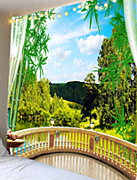 cheap -Beautiful natural scenery beautiful stereoscopic tapestry or background cloth or decorative cloth