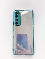 cheap -Case For Huawei Huawei P30 / Huawei P30 Pro / Huawei Mate 20 pro Shockproof Back Cover Solid Colored TPU