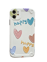 cheap -Case For Apple Shockproof / Pattern Full Body Cases Heart TPU