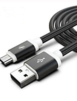 cheap -2M Nylon Micro Usb Braided Cable for Huawei Samsung Android  Mobile Phone Data Cable Fast charging