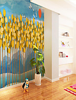 cheap -Custom Self-adhesive Mural Wallpaper Abstract Forest Children Cartoon Style Suitable For Bedroom Children's Room Art Deco  Landscape Home Decoration Modern Wall Covering