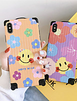 cheap -IMD Cartoon Smile for Apple iPhone Case 11 Pro Max X XR XS Max 8 Plus 7 Plus SE(2020) Protection Cover