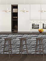 cheap -Limestone brick pattern PVC simulation self-adhesive DIY decorative wall stickers bar stickers