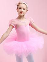 cheap -Swan Lake Princess Ballet Dancer Dress Girls' Movie Cosplay Purple / Red / Pink Dress Christmas Halloween Children's Day Cotton