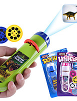 cheap -Projection Flashlight Children Projector Light Cute Cartoon Toy Night Photo Picture Light Bedtime Learning Fun Toys