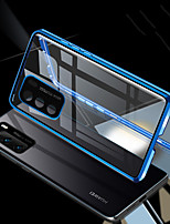 cheap -Double Sided Magnetic Case For Huawei P40 Pro/ Nova 7 Pro / Mate 30 Pro Metal Camera Lens Protective Tempered Glass Case For Huawei P30 Pro / Honor 9X / V30 Pro /Honor 30 Pro / Honor 30S/ Nova 6 5G