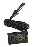 Недорогие -цифровой жк-термометр гигрометр измеритель температуры и влажности с зондом для автомобиля рептилия террариум аквариум холодильник