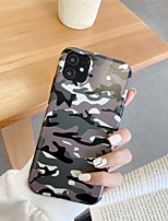 cheap -Frosted IMD Camouflage TPU for Apple iPhone Case 11 Pro Max X XR XS Max 8 Plus 7 Plus SE(2020) Protection Cover