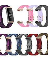 cheap -Watch Band for Fitbit charge3 Fitbit charge3 SE Fitbit charge4 SE Fitbit Charge 4 Fitbit Classic Buckle Business Band Nylon Wrist Strap