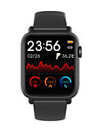 cheap -QS19 Unisex Smart Wristbands Android iOS Bluetooth Heart Rate Monitor Blood Pressure Measurement Calories Burned Thermometer Health Care Stopwatch Pedometer Call Reminder Sleep Tracker Sedentary