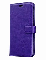 cheap -Case For Samsung Galaxy Samsung Galaxy A50 / Samsung Galaxy A50s / Samsung Galaxy A30s Card Holder / Flip Full Body Cases Solid Colored PU Leather