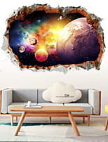 cheap -3D Starry Sky Wall Stickers 3D Wall Stickers Decorative Wall Stickers PVC Home Decoration Wall Decal Wall Decoration 1pc