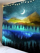 cheap -Psychedelic tapestry landscape theme background cloth decorative cloth hang cloth at home