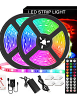 cheap -LED Strip Lights Music Sync Waterproof 10M RGB LED Light Strip for Room Lighting SMD 5050 Color Changing Tape Lights kit with LED Controller Flexible Waterproof LED Strip for Home Kitchen