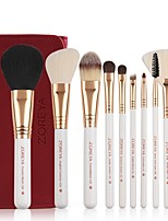 cheap -Professional Makeup Brushes 10pcs Soft Bamboo for Foundation Brush Eyeshadow Brush Makeup Brush Set