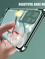 cheap -Shockproof Plating Transparent Phone Cases For iphone 11 11 Pro 11Pro Max X XS XR XS Max 8Plus 8 7Plus 7 SE 2020 Case Clear Soft TPU Back Cover