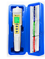 cheap -2 In1 Pen Type pH&Cond Meter Digital PH Meter Water Quality PH Pool Conductivity Tester Measuring Range 0.0-14.0pH 0-199.9uS/cm